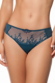 APPOLINE THONG BY EMPREINTE TEAL