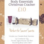 luxury body cracker by Caudalie