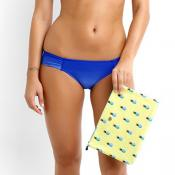 MIAMI RUCHED SIDE PANT BY SEAFOLLY IN LAPIS