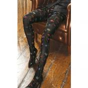 platino floral tights by trasparenze