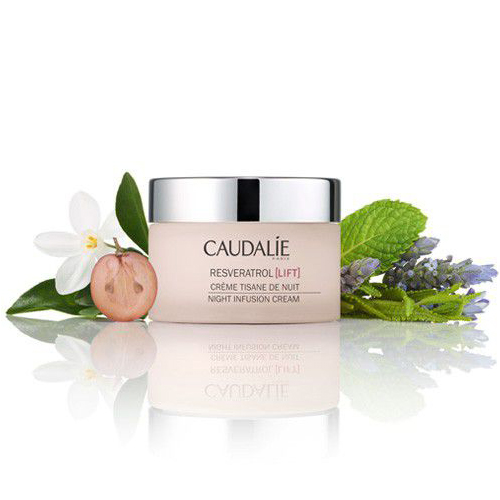 RESVERATROL LIFT NIGHT INFUSION CREAM BY CAUDALIE