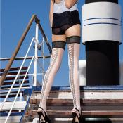 RIBBONS FANCY HOLD UPS BY TRASPA