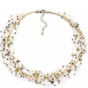 SILK & STONES T52-02 NECKLACE BY NANNAPAS