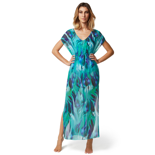 WATERFALL DRESS BY MOONTIDE