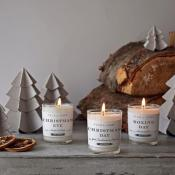 Xmas Votive set by Plum & ashby