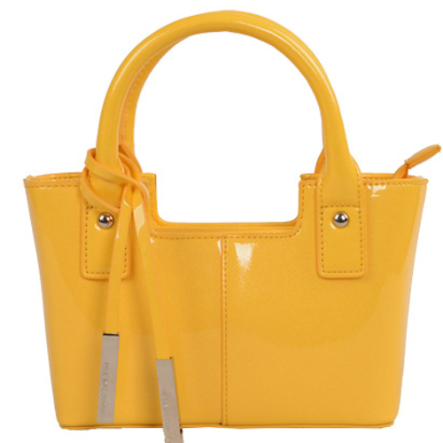 YELLOW GLOSS BAG BY URBAN COUNTRY